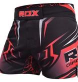 RDX SPORTS RDX R8 MMA Shorts Black/Red