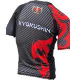 """ISAMU ISAMU KYOKUSHIN """"ATTACK"""" FIGHT RASHGUARD - Short Sleeve"""