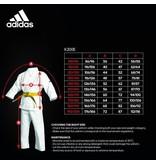 Adidas Adidas Karate suit K200 Kids - White/Green