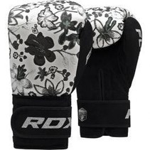 RDX Floral Boxing Gloves Mono
