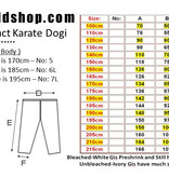 ISAMU ISAMU MAS OYAMA KIGA Kyokushinkai full contact karate gi