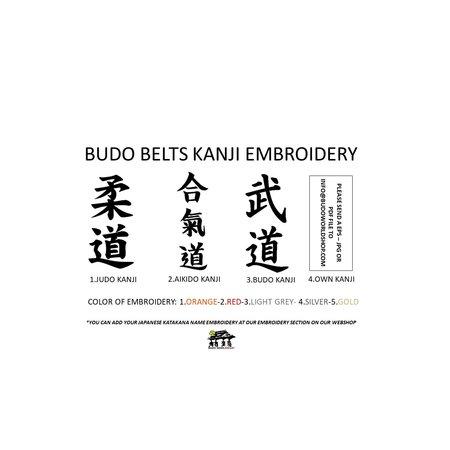 ISAMU ISAMU Budo Band I diverse stijlen