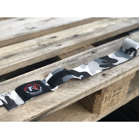 REALFIGHTGEAR RFG Handwraps - 2 lengths -  Camo Green&Grey