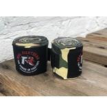 REALFIGHTGEAR RFG Bandages - 2 lengtes - Camo Grijs&Groen