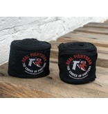 REALFIGHTGEAR RFG Handwraps - 2 lengths -  Black and white