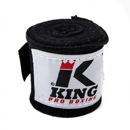 King Pro Boxing King Pro Boxing Bandages - 460cm - zwart