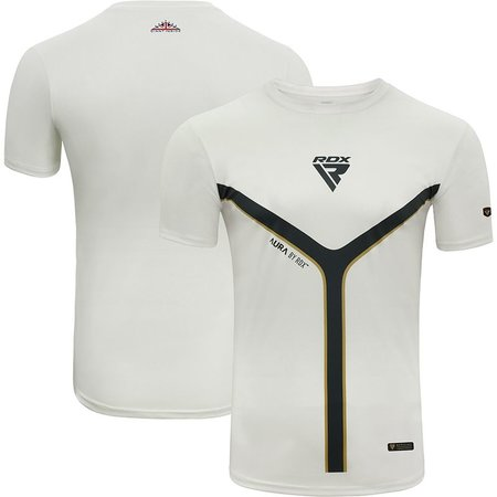RDX SPORTS RDX T17 Aura Short Sleeve White T-Shirt