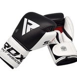 RDX SPORTS RDX S5 Leather(Kick) Boxing Sparring Gloves