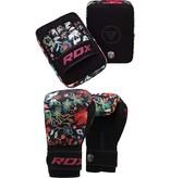 RDX SPORTS RDX Floral Set Gloves + Pads