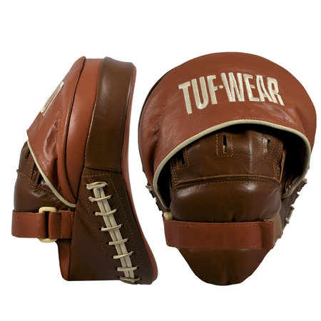 TUFwear Tuf Wear Classic Brown Curved Focus Hook and Jab Pad