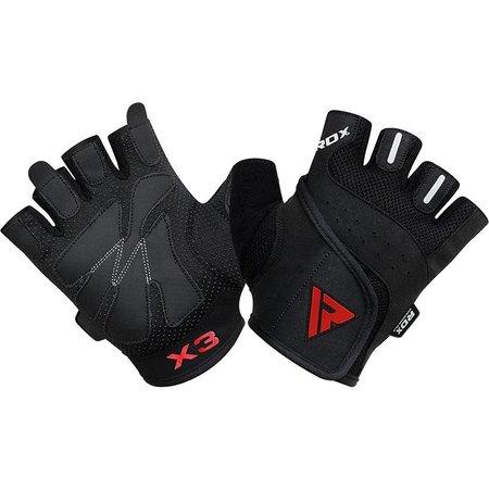 RDX SPORTS RDX S2 Half Finger Padded Bodybuilding Workout Gym Handschoenen
