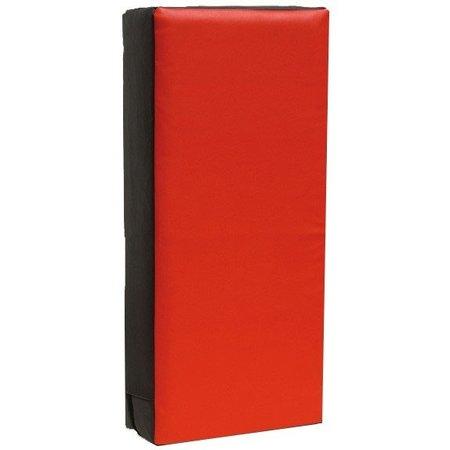 Trapkussen 75 x 35 x 15 cm Zwart/Rood