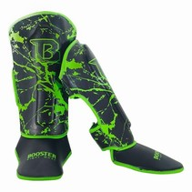Booster Shinguards Youth Marble Green