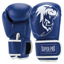 Super Pro Combat Gear Talent (kick)bokshandschoenen Blauw/Wit