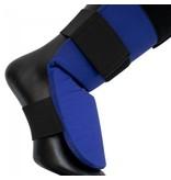 Super Pro Super Pro Combat Gear Shin Guards Savior Blue / White