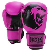 Super Pro Combat Gear Talent (kick) boxing gloves Pink/Black