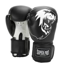 Super Pro Combat Gear Talent (kick) boxing gloves Black/White