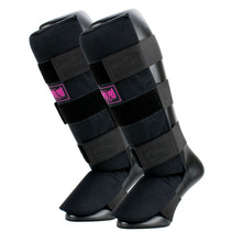 Super Pro Combat Gear Shin Guards Savior Black/Pink