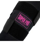Super Pro Super Pro Combat Gear Scheenbeschermer Savior Zwart/Roze