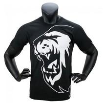 Super Pro T-Shirt Lion Logo Black / White