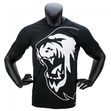 Super Pro Super Pro T-Shirt Lion Logo Black / White
