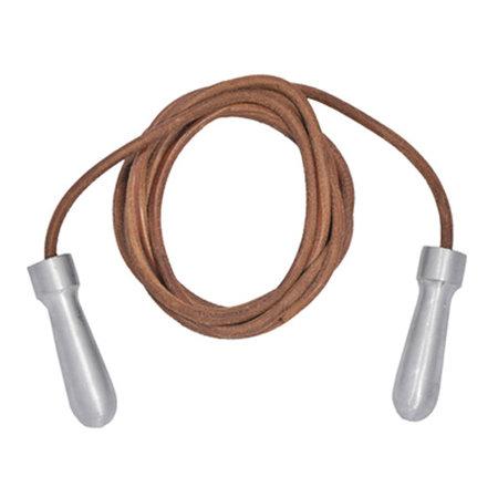 TUFwear Tuf-Wear Alloy Handle Leather Skipping Rope - 9ft