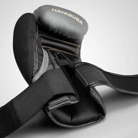 HAYABUSA T3 BOXING GLOVES Black/Charcoal