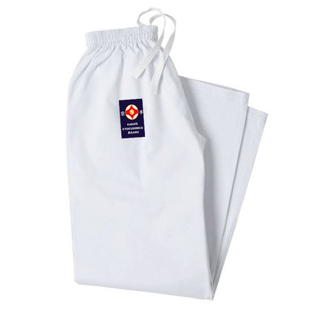 ISAMU 勇 ISAMU karate pants with elastic band