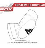 RDX SPORTS RDX HY CE Certified Padded Elbow Sleeve for Muay Thai & MMA Workouts