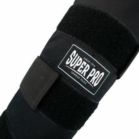 Super Pro Super Pro Combat Gear Shin Guards Savior Black/White