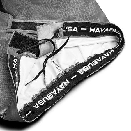 HAYABUSA Hayabusa Hex Mid-Length Fightshorts - Grijs