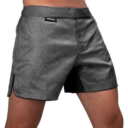HAYABUSA Hayabusa Hex Mid-Length Fight Shorts - Grey