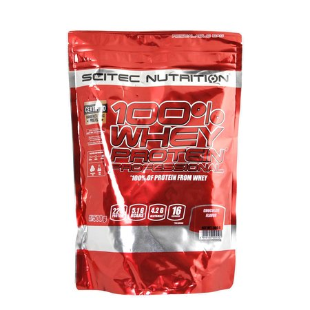 SCITEC NUTRITION Scitec Whey Protein Professional 500Gr Chocolade