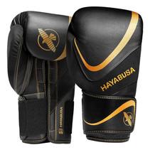 Hayabusa H5 Boxing Gloves - Black / Gold