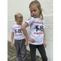 Kyokushin Kids  Fighter 'Jakku' T-shirt White
