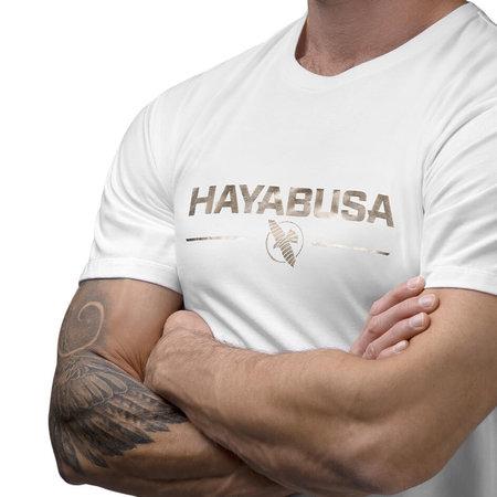 HAYABUSA Hayabusa Metallic Logo T-shirt Wit