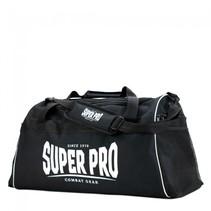 Super Pro Combat Gear Gym Sporttas Zwart/Wit