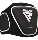 RDX SPORTS Borstbeschermer T2 Zwart van gepatenteerde Maya Hide
