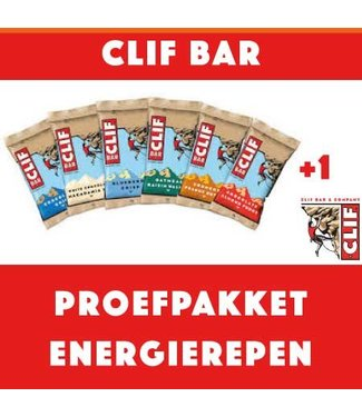 Clif Bar Clifbar Test package Barrette energetiche (8 pezzi)