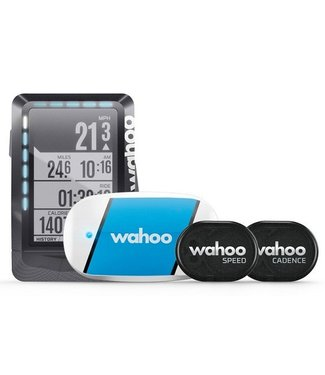 Wahoo Fitness Wahoo ELEMNT & TICKR & RPM bundle Cycling computer / Navigazione in bici