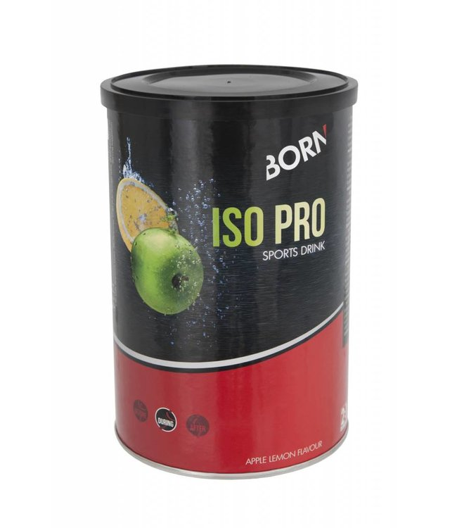 Born Born Iso Pro Sports Drink (400gr) Apple - Lemon