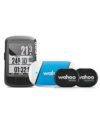 Wahoo Fitness Wahoo ELEMNT BOLT GPS Fahrradcomputer / Fahrradnavigation - Bundle