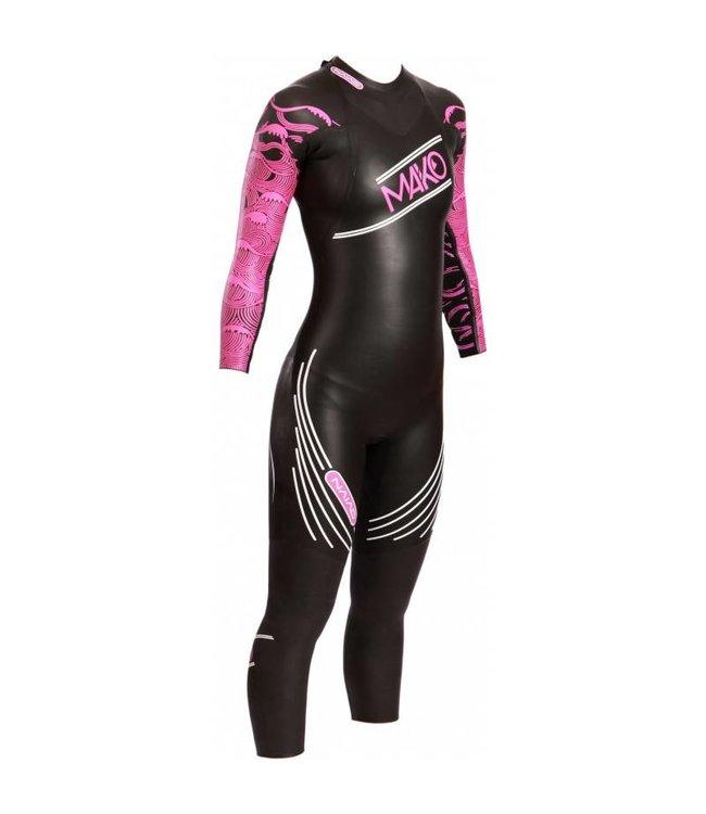 91fb2ad53def5c Mako Naiad wetsuit Ladies - AthleteSportsWorld.com - TRIATHLON ...