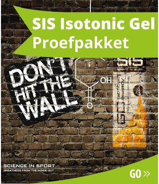 SIS (Science in Sports) SIS Paquet de test de gel isotonique