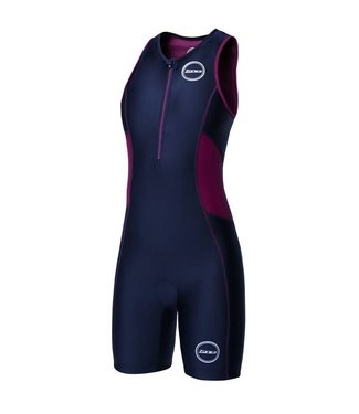 Zone3 Zone3 Activate Trisuit Ladies Noir / Vin Rouge