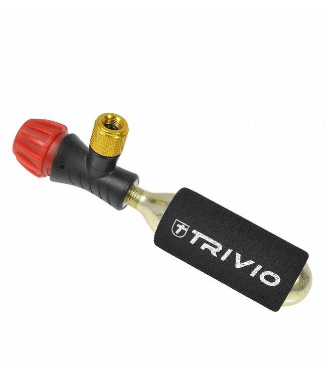 Trivio Trivio Kit - Holder with Co2 cartridge (16gr)