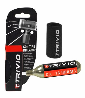 Trivio Trivio Kit Pro - Holder with Co2 cartridge (16gr)