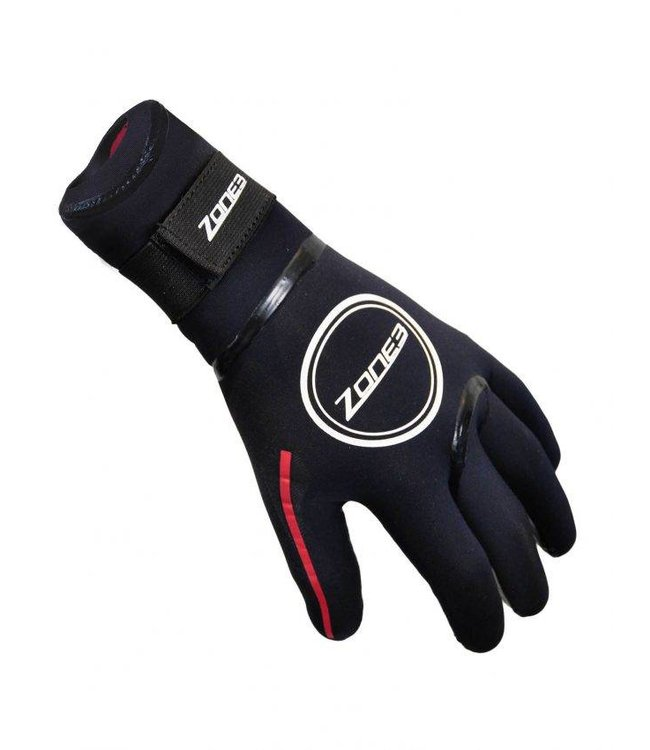 Zone3 Zona 3 Neopreno Heat Tech natación guantes