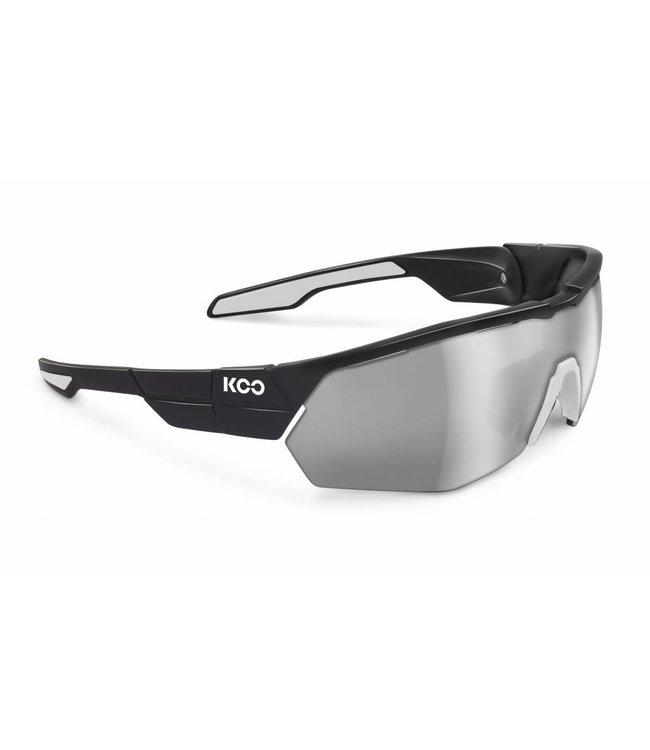 Kask Koo Koo Open Cube Zwart Wit fietsbril