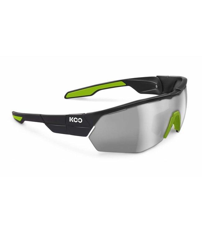 Kask Koo Koo Open Cube Black Lime Green bicycle glasses
